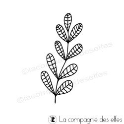 stempel leaves | tampon feuillage feuille