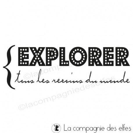 Tampon explorer   tampon voyage