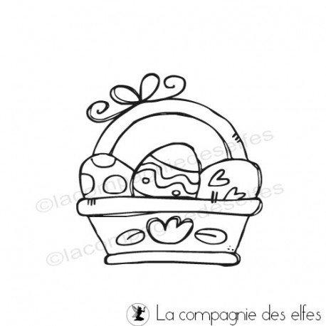 easter stamp | cachet Pâques