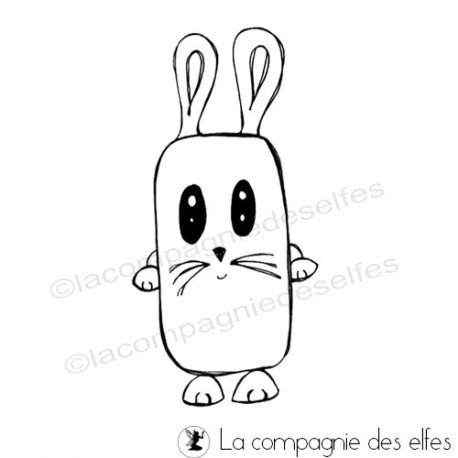 Rabbit timbre | cachet lapin