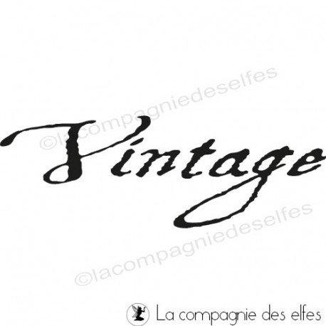 Vintage stamp | vintage stempel | vintage sello de goma