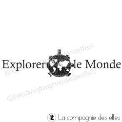 Explorer le monde - tampon non monté