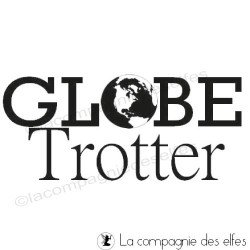 Timbre globe trotter | globe trooter stamp | tampon roadbook