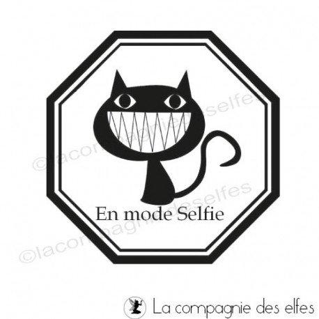 Tampon selfie | selfie stamp