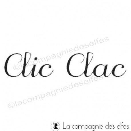 clic clac stamp | clic clac stempel