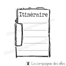 bloc notes itinéraire tampon nm