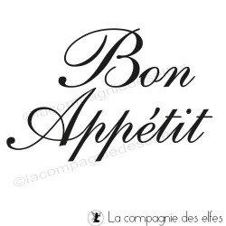 Bon Appétit tampon nm