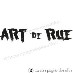ART de RUE tampon nm
