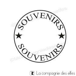 Timbre souvenirs | cachet souvenir