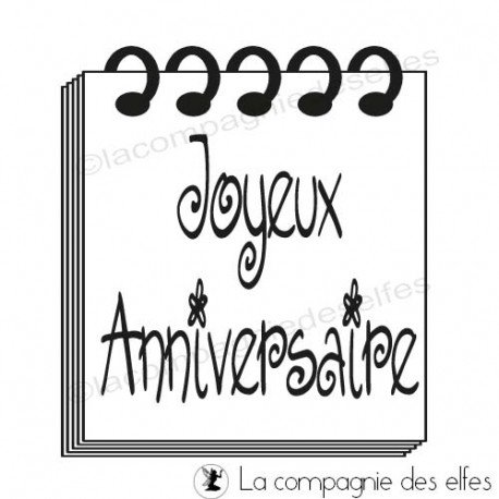 Timbre anniversaire | anniversaire stamp