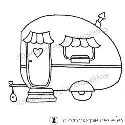 Tampon camping | tampon caravane