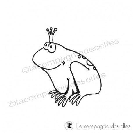 Challenge d'avril Tampon-la-reine-grenouille