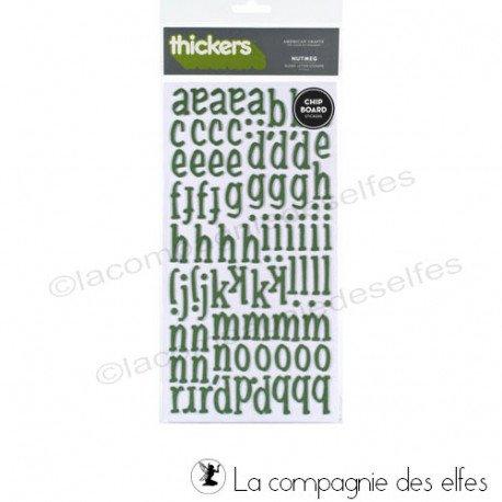 alphabet scrap