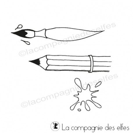 carte adolescents 1/3 Tampon-pinceau-arts-plastiques-a-l-ecole