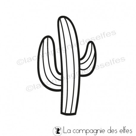 Challenge d'avril Tampon-cactus-mexicain