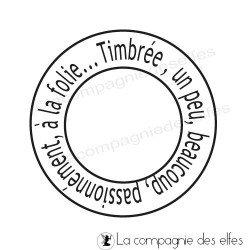 cachet postal Timbrée .... - C5 tampon nm