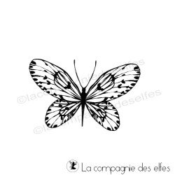 Schmetterling stempel | paint rubber stamp