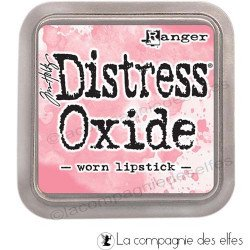 distress oxide worn lipstick
