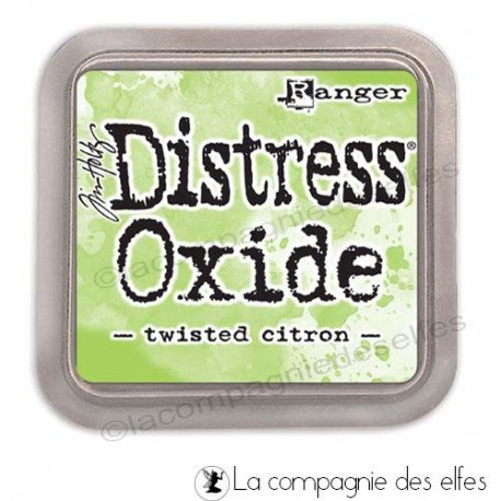 Cartes créatives Août 2019. Distress-oxide-twisted-citron