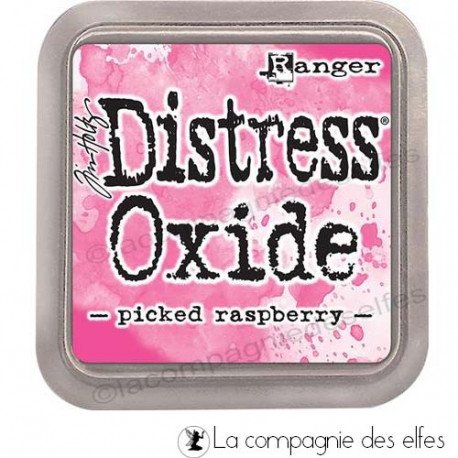 8 juillet tuto scrap Sandrine VACHON Distress-oxide-picked-raspberry
