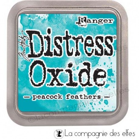 CHALLENGE DU 1ER OCTOBRE  Distress-oxide-peacock-feathers