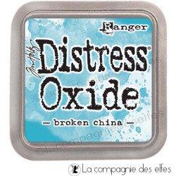 distress oxide broken china
