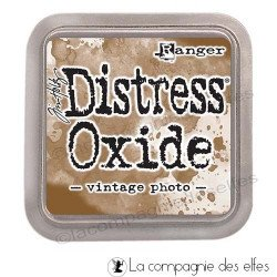 Distress oxide vintage photo