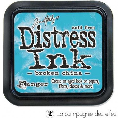 Challenge de septembre marque page. Distress-encreur-bleu-broken-china