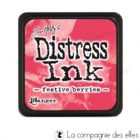 Achat distress rouge | distress festive berries