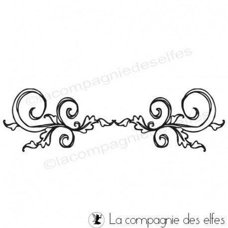 Timbre doodling   arabesque stempel