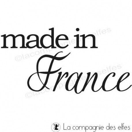 Tampon made in France | achat tampon made in France