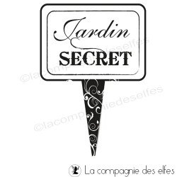 Jardin secret tampon