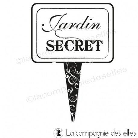 Carte citrouille 3/3 A PROGRAMMER Jardin-secret-tampon