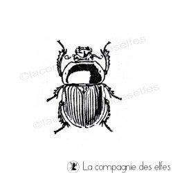 kafer stempel | beetle rubber stamp