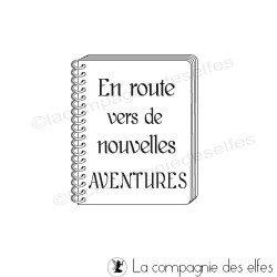 Carnet aventure | tampon aventure | tampon roadbook