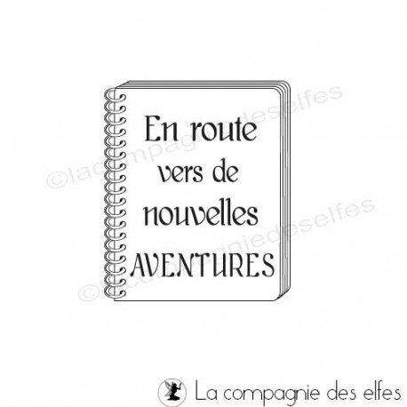 Carnet aventure   tampon aventure   tampon roadbook
