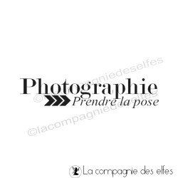 Photographie prendre la pose - tampon nm