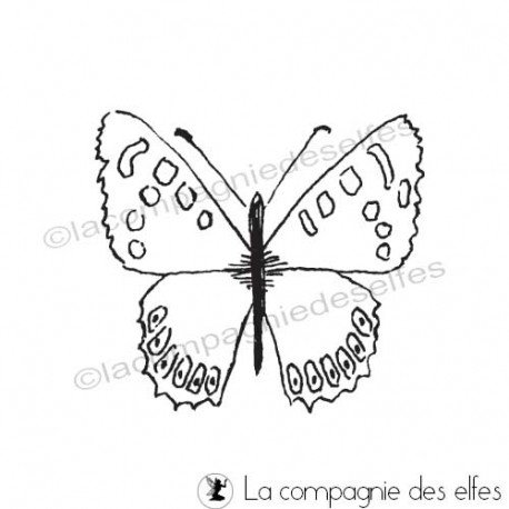 Achat cachet papillon | schmetterling stempeln
