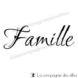 Famille tampon nm