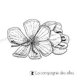 Tampon fleur de safran