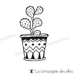 Tampon cactus Opuntia