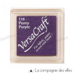 encre tissu versacraft violet purple