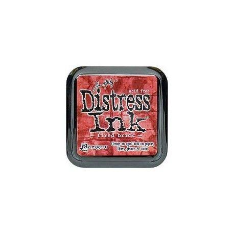 distress encreur pad fired brick