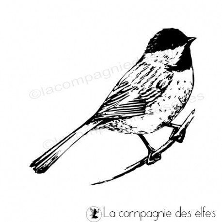 Acheter timbre animal | tit rubberstamp