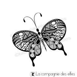 tampon papillon - non monté