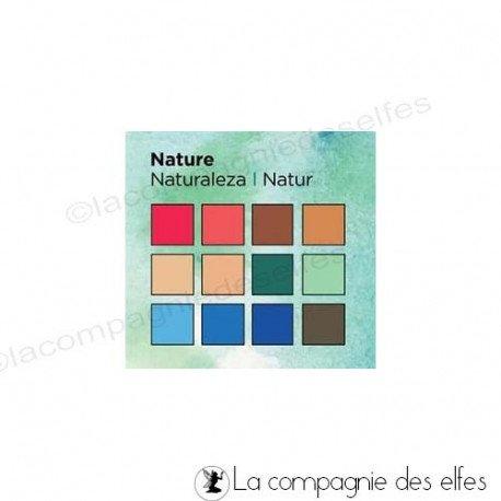 Nouveaux tampons et matériel scrapbooking juin Feutre-aqua-spectrum