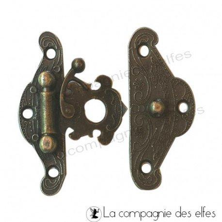Achat fermoir métal | fermeture album | fermoir scrap