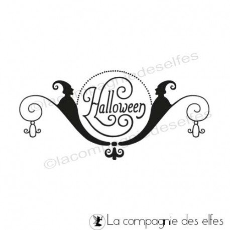 Achat tampon halloween