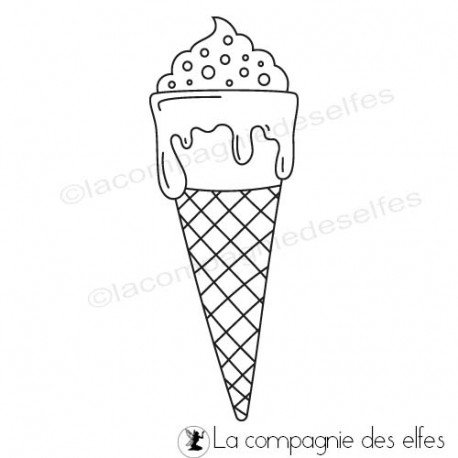 Achat timbre glace