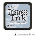 distress encreur bleu gris WEATHERED WOOD